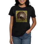 Turkey Fan Women's Dark T-Shirt