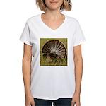 Turkey Fan Women's V-Neck T-Shirt