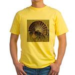 Turkey Fan Yellow T-Shirt
