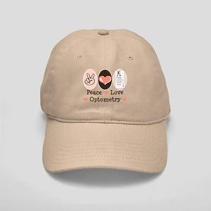 Peace Love Optometry Eye Chart Cap