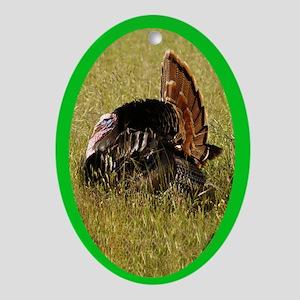 Big Tom Turkey Oval Ornament