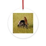 Big Tom Turkey Ornament (Round)