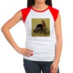 Big Tom Turkey Women's Cap Sleeve T-Shirt