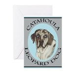 Catahoula Leopard Dog Greeting Cards (Pk of 20)
