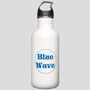 Blue wave, vote Water Bottle