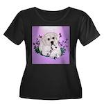 Great Pyranees Pup Women's Plus Size Scoop Neck Da