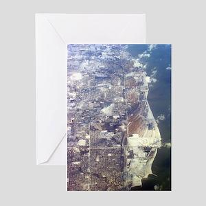 Aerial Lake Greeting Cards (Pk of 10)