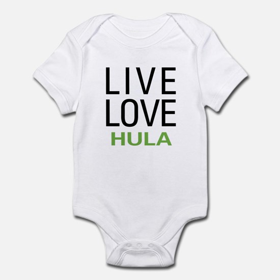 Live Love Hula Infant Bodysuit