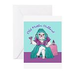 Bulldog Mother Hubbard Greeting Cards (Pk of 20)