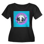 Australian Shepherd Puppy Women's Plus Size Scoop