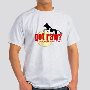 Raw Milk, Real Food Light T-Shirt