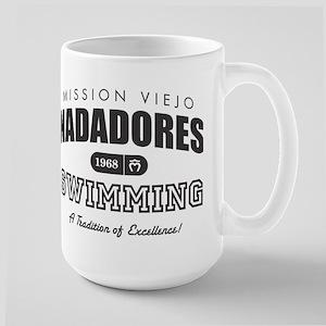 MVN Swimming Large Mug