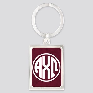Alpha Chi Omega Letters Keychains