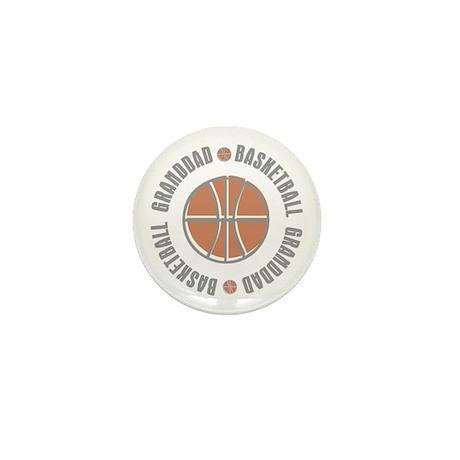 Basketball Granddad Mini Button (10 pack)