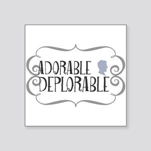 Adorable Deplorable Sticker