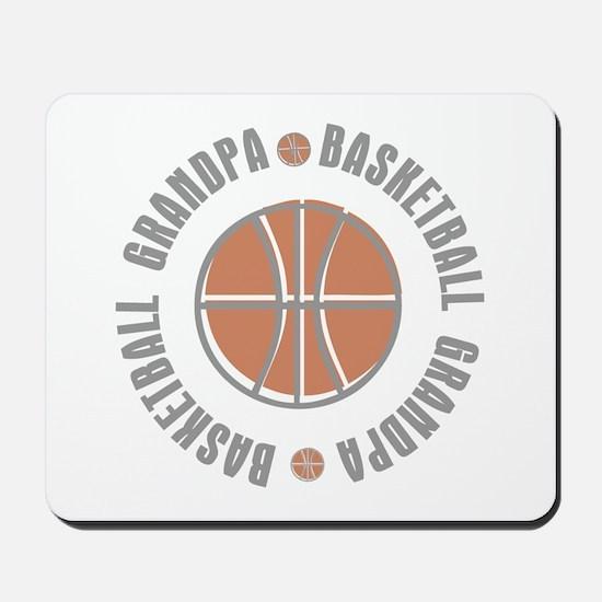Basketball Grandpa Mousepad