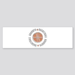 Basketball Grandpa Bumper Sticker