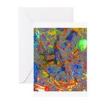 Jeweled Frog Greeting Cards (Pk of 10)