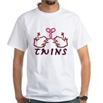 Meet The Twins II White T-Shirt