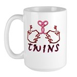 Meet The Twins II Large Mug