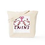 Meet The Twins II Tote Bag