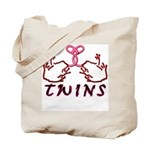 Meet The Twins II Tote Bag