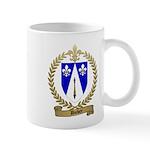 DUBEY Family Crest Mug
