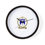 DUBEY Family Crest Wall Clock