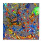 Jeweled Frog Tile Coaster