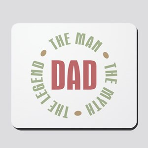 Dad Man Myth Legend Mousepad
