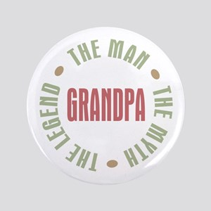 "Grandpa Man Myth Legend 3.5"" Button"