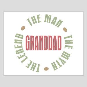 GrandDad Man Myth Legend Small Poster