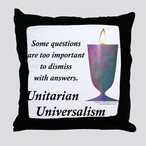 UUF Questions Throw Pillow
