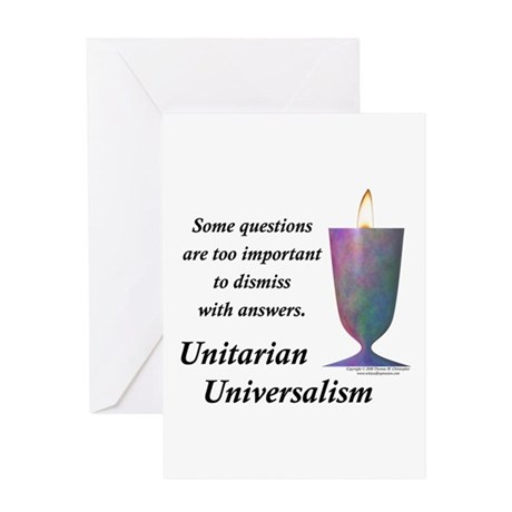 UUF Questions Greeting Card