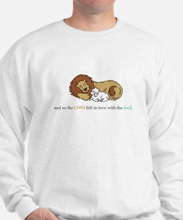 And So the Lion #3 Sweatshirt