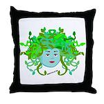 Medusa Molly Throw Pillow