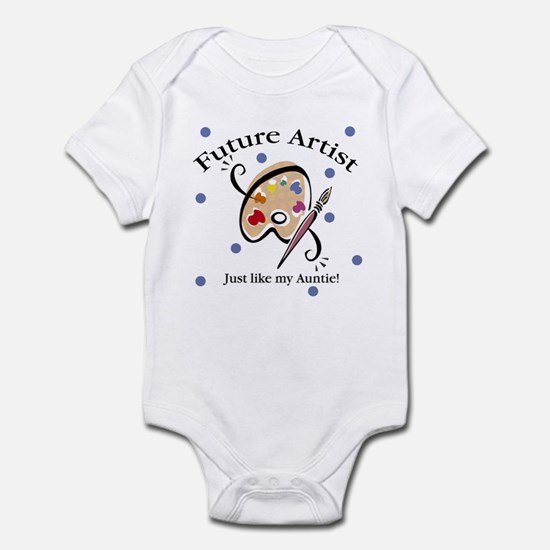 Future Artist Like Auntie Baby Infant Bodysuit