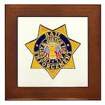 Bail Enforcement Framed Tile