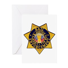 Bail Enforcement Greeting Cards (Pk of 20)