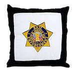 Bail Enforcement Throw Pillow