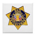 Bail Enforcement Tile Coaster