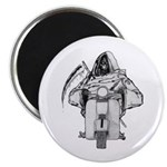 "Death Rides A Scooter 2.25"" Magnet (10 pack)"
