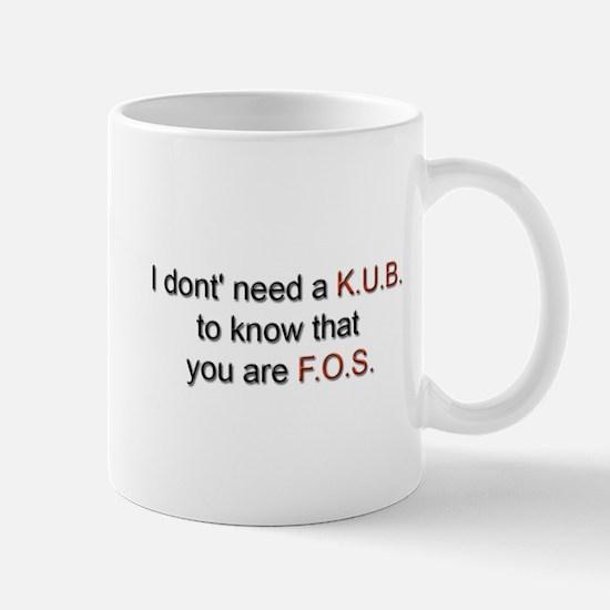 KUB Mug