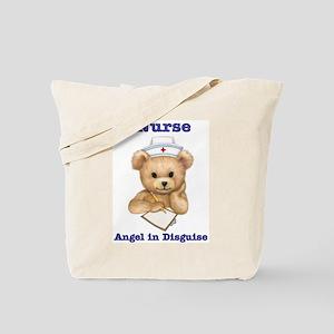 Nurse - Angel in Disguise Tote Bag