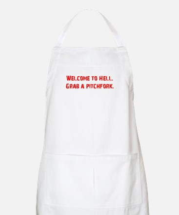 Welcome to Hell BBQ Apron