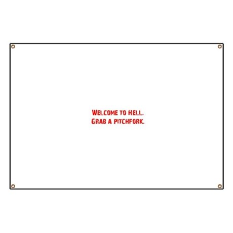 Welcome to Hell Banner