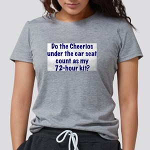 72-Hour Kit? Ash Grey T-Shirt