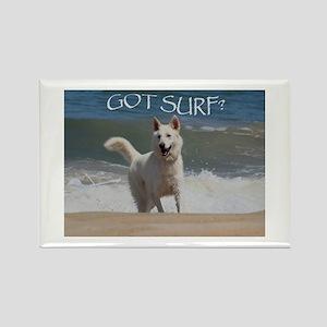Surf Rider Rectangle Magnet (100 pack)