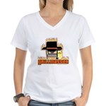 Grillmaster Women's V-Neck T-Shirt