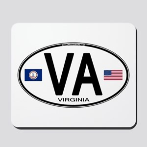 Virgina Oval VA Mousepad